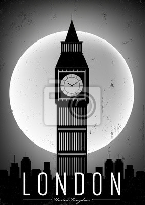 Plakat Projekt plakatu London