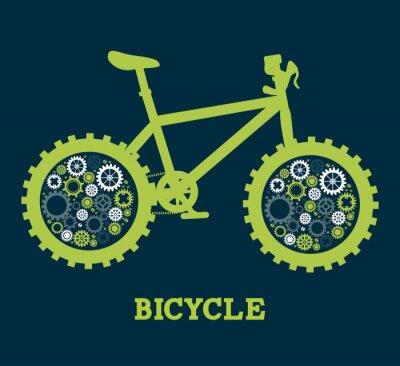Plakat Projekt rower