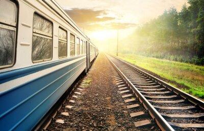 Plakat Przeprowadzka pociągu
