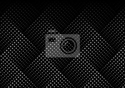 Plakat Przerywana linia geometryczna szwu. Kompletne tekstury. Próbki wzór zawarty w pliku.