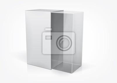 Przezroczyste pudełko opakowanie dla Twojego produktu wewnątrz