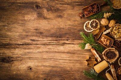 Plakat Przyprawy do ciast świątecznych