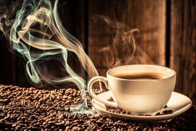 Plakat Puchar smak kawy z palonych ziaren