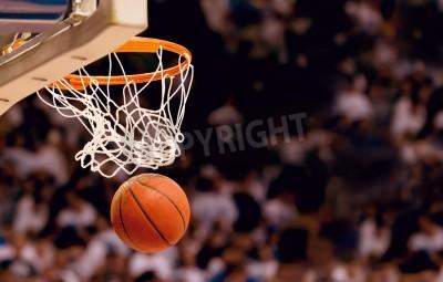 Plakat Punktacja zwycięskie punkty w meczu koszykówki