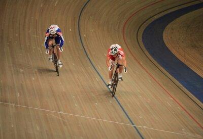 Plakat pursuit Cycling