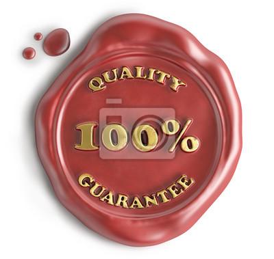 quality guarantee seal wax