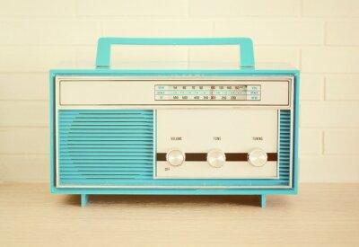 Plakat Radio retro