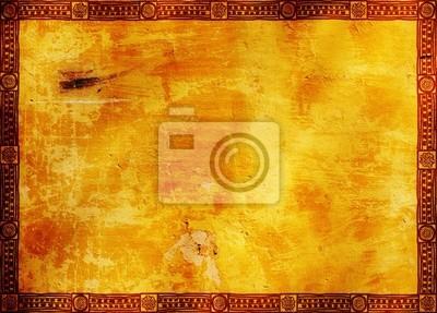 Ramka z tradycyjnymi wzorcami Indian amerykańskich