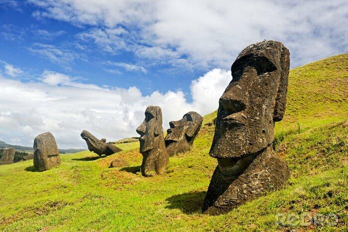 Plakat Rano Raruku Moai