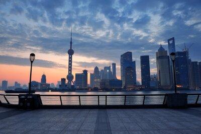 Plakat rano Shanghai
