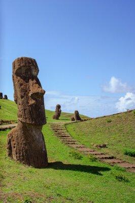Plakat Rapa Nui. Wyspa Wielkanocna