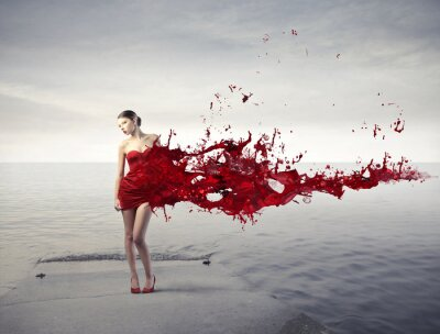 Plakat red beauty