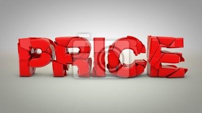 Red katastrofy cena uderzając o podłogę