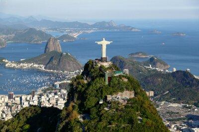 Plakat Rio de Janeiro - Corcovado