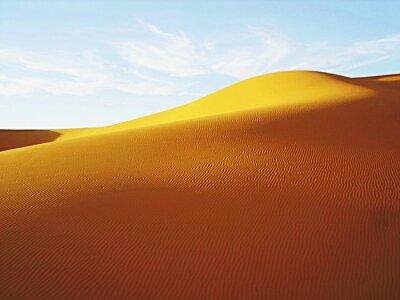 Plakat Rippled Pattern On Sand Dune