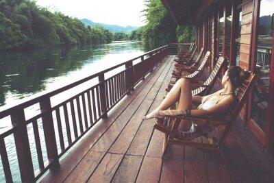 Plakat River Kwai w Tajlandii