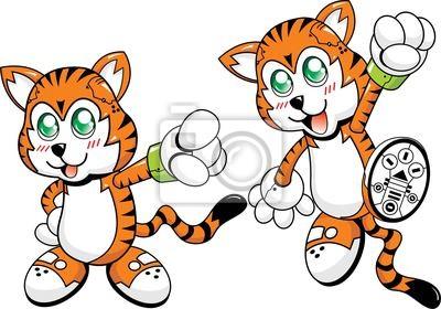 Robotic postaci Tiger