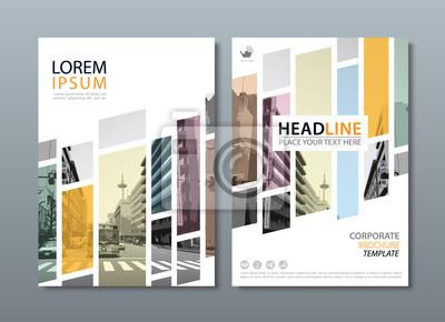 Plakat Roczna broszura broszura ulotka projekt szablon wektora, prezentacja okładki ulotki, okładka książki, układ w formacie A4.