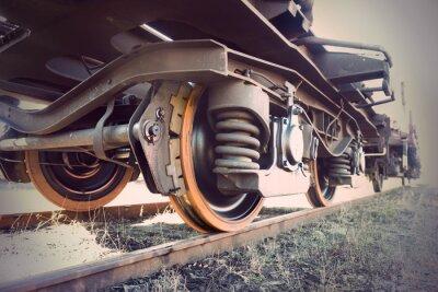 Plakat rocznik pociągu
