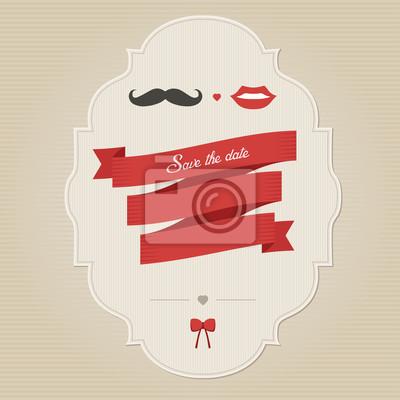 Plakat Rocznika śmieszne Zaproszenie Na ślub Z Miejsca Dla Tekstu Na