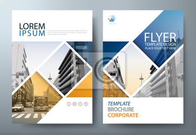 Plakat Roczny raport ulotki broszury szablon wektor, prezentacja okładki ulotki, okładka książki, układ w formacie A4.