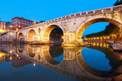 Plakat Roma Ponte Sisto