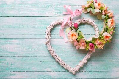 Plakat Romantyczny ślub lub tła.