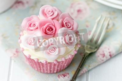 Plakat Rose Cupcake