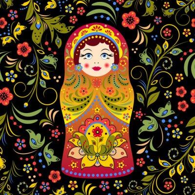 Plakat Rosyjska lalka