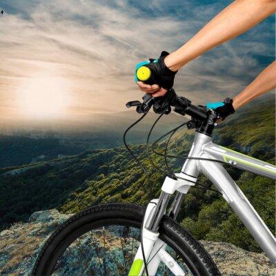 Plakat Rowerów, jazda na rowerze, rower górski.