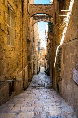 Plakat Rue La Valette, à Malte