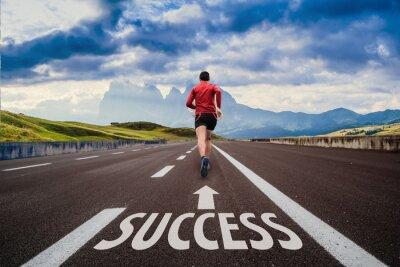 Plakat Run to success