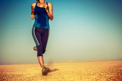 Plakat Runner na pustyni