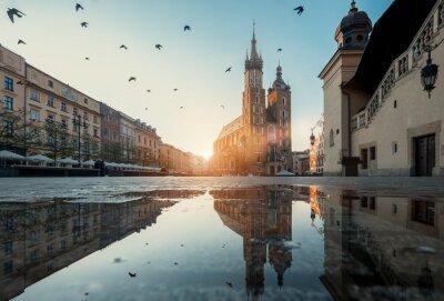 Plakat Rynek w Krakowie