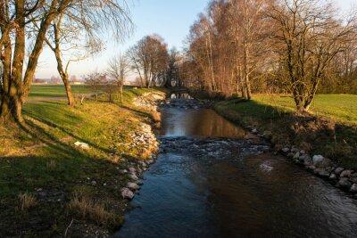 Plakat Rzeka in Bayern -