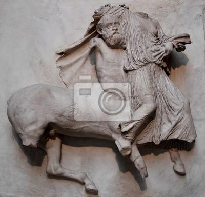 Plakat Rzeźby z Partenonu w Grecji