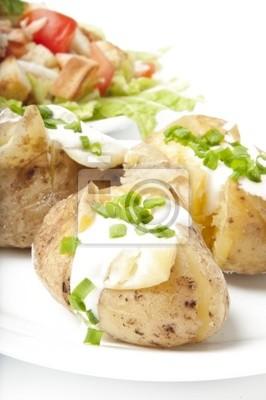 Sałatka z ziemniaków i pieczone