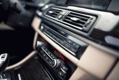 Plakat Samochód system wentylacji i klimatyzacji