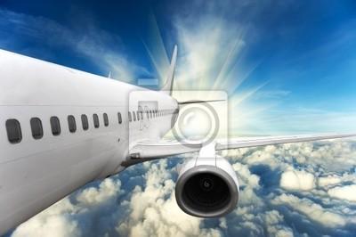 Plakat samolot