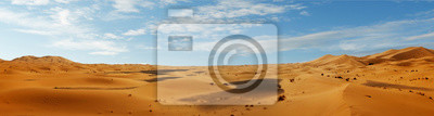 Plakat sand dune in the sahara desert