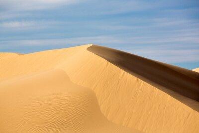Plakat Sand Dunes At Desert Against Sky