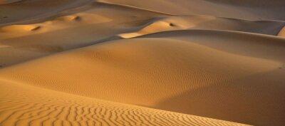 Plakat Sand Dunes In Desert