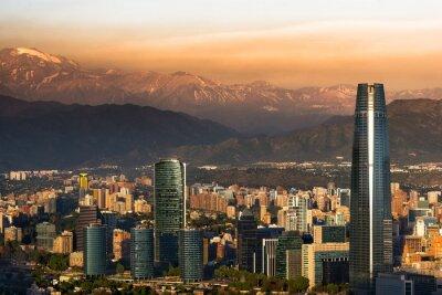 Plakat Santiago de Chile