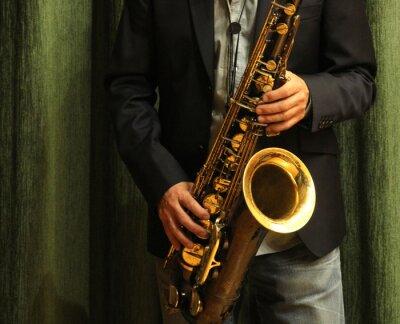 Plakat Saxofón