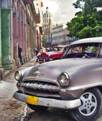 Plakat Scena Havana z Stary samochód