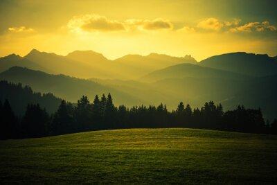 Plakat Scenic Krajobraz Górski