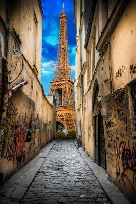 Plakat scorcio della Tour Eiffel