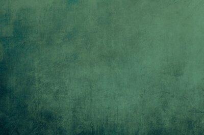 Plakat Scraped green background