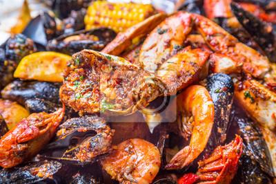 Plakat Seafood Boil