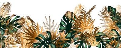 Plakat Seamless jungle background
